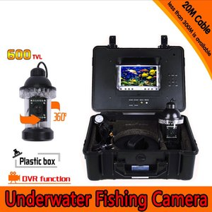 2016 New Underwater Fishing Camera Kit with 20Meters Depth 360 Rotative Camera & 7Inch Monitor with DVR Built-in & Hard Plastics Case