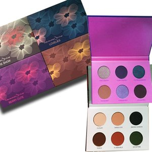 Wholesale Makeup mix Coloured lovelies  Beauty Rust Smoke Show Berry Cute 6 color eyeshadow palette  eyeshadow palette