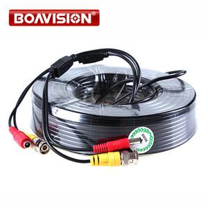 1 x 165FT / 50M CCTV negro de vigilancia de seguridad Video Cable de alimentación cable coaxial para CCTV