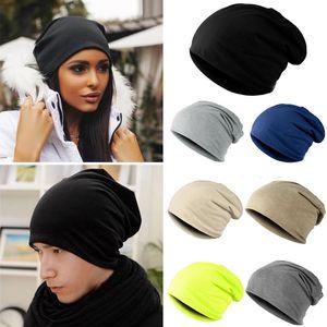 Toptan-Moda Stil Unisex Erkekler Kadınlar Için Örme Kış Sıcak Kayak Tığ Slouch Şapka Kap Pamuk Skullies Karışımları Beanie
