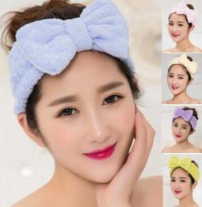 6 Couleurs Choisir Filles Femmes Bandeau Twist Head Wrap Twisted Noeud Doux Cheveux Band Bandeaux Pour Le Bain Masque Du Visage