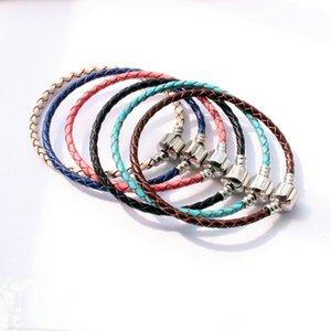 DIY плетеный кожаный пряжки цепи ручной посеребренные Box цепи голые цепи для DIY браслет ювелирных изделий аксессуары