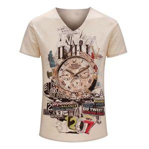 Raisevern men's fashion print tshirt 2015 summer tees t-shirt vintage short sleeve t shirts casual brand tops camisetas mujer