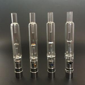Great Pyrex Glass Water Atomizer Hookah Pen Smoking Pipes E Cig Tank Dry Herb Wax Vaporizer Glass Shisha Atomizer for EGO Evod Battery