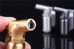 고품질 부탄 제트 불꽃 토치 라이터 Windproof Cigar Lighter 용접 건 Refillable Butane Gas 라이터 dhl 무료
