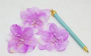 """Silk Spring Swallows Flower Head Dia. 7cm / 2,76 """"künstliche Kamelie voll offen für DIY Kopfschmuck Blumen Zubehör 8 Farben erhältlich"""