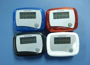 جديد الجيب LCD مقياس الخطو مصغرة وظيفة واحدة عداد الخطى خطوة عداد تشغيل تشغيل الخطوة عداد الخطى الرقمية المشي عداد مع حزمة