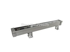 Wholesale-5pcs / lot libera il trasporto 9W 50 centimetri impermeabile LED Wall Washer luce lineare lampada della barra esterna 85-265V puro / bianco caldo
