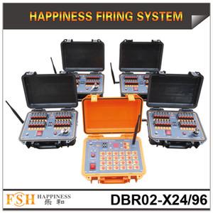 FedEx / DHL Spedizione gratuita, sistema pirotecnico antincendio a 96 canali, sistema di accensione di fuochi d'artificio, sistema di fuoco sequenziale ricaricabile, il best seller