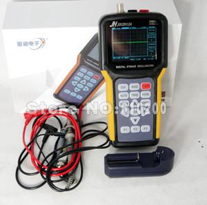 Wholesale-FreeShipping 2 in 1 single channel Handheld Digital storage oscilloscope + Digital multimeter English menu 3.2