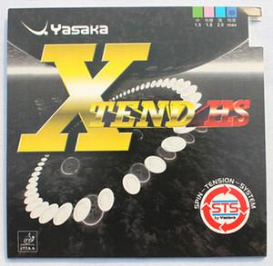 Yasaka XTEND HS Table Tennis Rubber Ping Pong Cauchos de alta calidad para Blade / Bat / Base Envío gratis