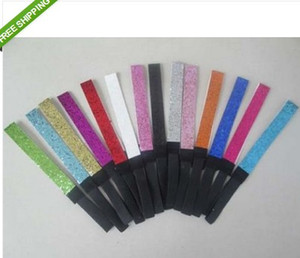 NOUVEAU vente chaude 60 pcs GLITTER HEADBANDS Team Sports Glittery Headband U Choisir Sparkle
