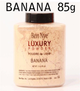 بن ناي LUXURY POWDER POUDER de LUXE Banana Loose Makeup powder 3oz / 85g 120pcs