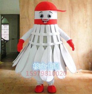 Hot New Badminton Mascot Costume TUTTE LE DIMENSIONI: !! Spedizione gratuita