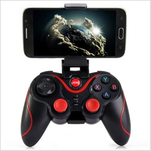 Original Gen Game Bluetooth Controller S6 Gamepad Joystick Gaming Controller for Android Smartphone Holder Included Black Color