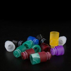 Colorido Acrílico Drip Tips Wide Bore Drip Tip 510 EGO Atomizador Bocais para CE4 vidro Protank EVOD e cigarro atty stillare 3d rda mods