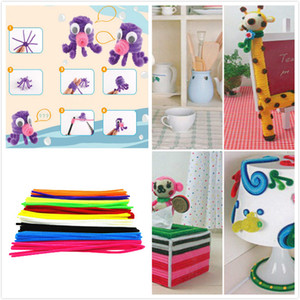 Toys For Children 100pcs Montessori Materials Chenille Puzzle Wooden Toys Crafts Pipe Cleaner Stuffed Kids Toys Toy Puzzles