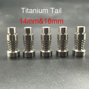 높은 품질과 저렴한 domeless 티타늄 못 14mm 18mm 남성 정장 유리 물 파이프에 적합