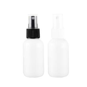 뜨거운 판매 100pcs 50 ml 패션 휴대용 미니 Atomizer 향수 흰색 병 애프터 셰 이브 메이크업 스프레이 Atomiser 여행