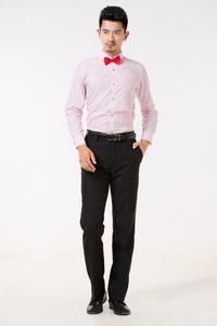 고품질의 신랑 셔츠 판매 최고의 남자 셔츠 긴 소매 흰색 셔츠 신랑 액세서리 01