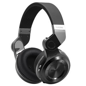 Новые наушники оригинальная мода Bluedio T2 Turbo Беспроводной Bluetooth 4.1 стерео наушники шумоподавления гарнитура с микрофоном высокого качества бас