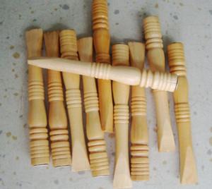 Venta al por mayor libre del envío ----- nuevo tenedor de madera del cigarrillo del 10cm 2015, salud ambiental del filtro del tubo, color de madera natural, entrega al azar