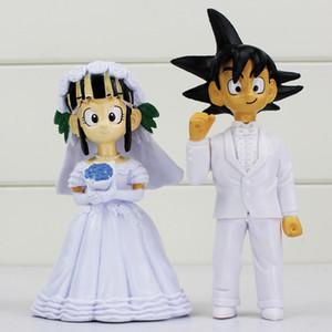 Dragon Ball Sangoku Chichi mariage Figure poupée jouets en PVC cadeau pour les amis de / set