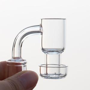 Quartz Terp Vacuum Banger quartz banger Domeless nails Terp Slurper Up Oil Nails 10mm 14mm 18mm for Glass Bong smoking water pipes