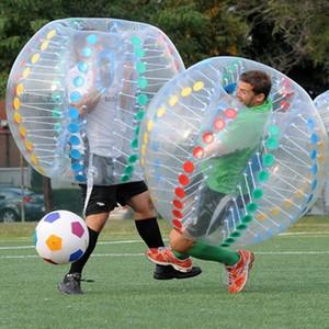 Fedex geben Verschiffen 1.5m PVC zorb Ball, aufblasbarer menschlicher Hamsterball, aufblasen Ball, Blasenfußball, Blasenfußball, Sportball, gehender Ball frei
