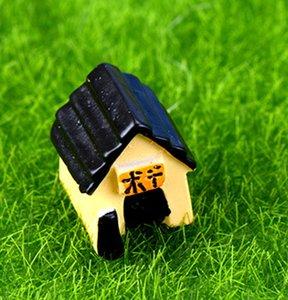 5pcs 미니 초원 집 장식 요정 정원 미니어처 테라리움 인형 Baison 도구 인형 집 장식 홈 액세서리