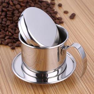 Vietnã Estilo Caneca De Café Copo De Aço Inoxidável Copo De Metal Chinês Gotejamento Cup Filtro Criador Filtro Coador Legal