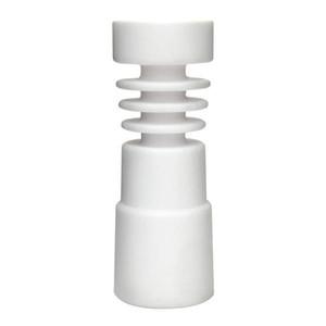 Fumar dogo al por mayor Domeless clavo de cerámica femenino universal se adapta a 14 mm 18 mm tamaño de la junta clavos de cerámica envío gratis