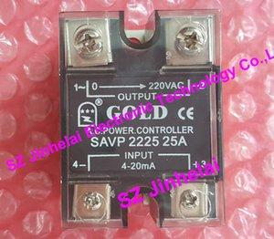 SAVP2225 GOLD POWER CONTROLLER جديدة ومبتكرة تتابع الحالة الصلبة 220VAC 25A ، 4-20ma