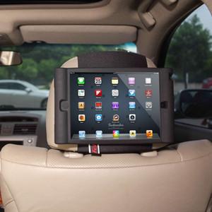 Suporte de montagem de encosto de cabeça de carro de crianças TFY para iPad Mini 4 - destacável leve anti-derrapante à prova de choque Soft Handle Case