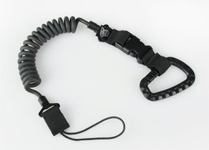 Tactical Accessories Airsoft Sling Tactical Spring Sling With Hanging Buckle Black CP ACU Free Shipping CL13-0045