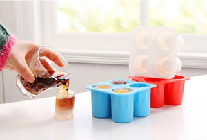 20 unids ice cup Mould Ice Cream Maker DIY Pops Mold Popsicle Moldes Frozen Treats Freezer Herramientas