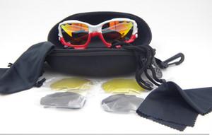 Brand New Men's Abbigliamento Accessori Occhiali Accessor Occhiali Eyewear Racing Sport Occhiali da sole UV400 TR90 Montature da 3 lenti