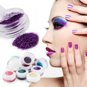 Ücretsiz alışveriş 2015 Yeni 30 Renkler glitter Göz Farı Pudra Makyaj Mineral metalik Göz Farı Toz Profesyonel