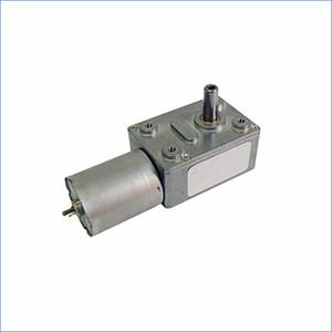 Les moteurs de la boîte d'engrenage à vis sans fin, DC 6V 12V 24V couple élevé moteur électrique, moteur à boîte de vitesses carrés, J14469