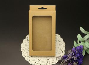 Universal Phone Case Package Papier Kraft Brown Retail Packaging Box pour iPhone 6 5s 4s Samsung S4 S5 Note 2 3 4 Téléphone portable