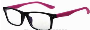 10pcs / lot montures de lunettes de mode pour hommes femmes acétate montures optiques bryle gafa acceptent des couleurs mélangées