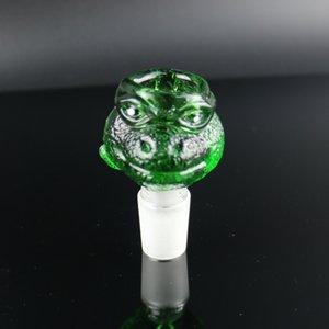 NEW ПРИБУДЕТ Чаши для затяжек цветных смешное животного миски 1418 толстого стекло тяжелого G.O.G шара