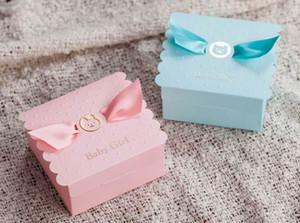 Baby Душ Подарок Коробки Младенцы Душ Пользу Подарок Коробки День Рождения Подарок Коробки Вечеринки Для Новорожденных Детей