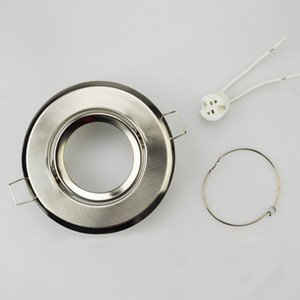 GU10 / MR16 suporte da lâmpada de montagem de teto de alumínio luzes LED MR16 quadro dispositivo elétrico MR16 titular LED Lights Down acessórios