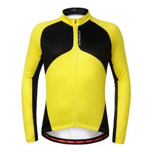 WOSAWE мужчины тепловой флис Велоспорт Джерси ветрозащитный теплый велосипед с длинными рукавами куртка Велоспорт ветер пальто одежда Спортивная
