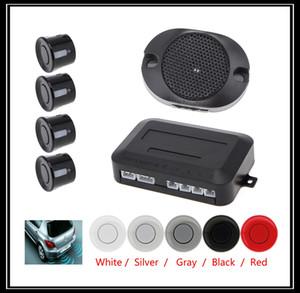 Sistema di sensori di parcheggio auto impermeabile con 4 sensori Buzzer Allarme acustico Indietro Assistente per auto 5 colori CAL_243 opzionale