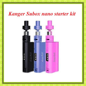 ¡Venta caliente !! Subox Nano kit Kanger Potente Subox Nano VS Topbox Mini subox kit de subvod kit subvod