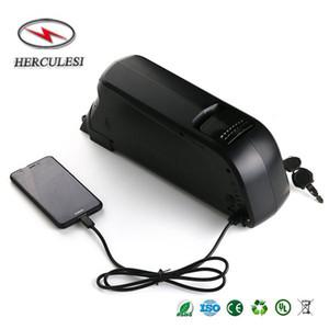 36V 350W 500W vélo électrique Batterie 36V 10Ah Dolphin Li Ion 18650 batterie au lithium 15A BMS Downtube batterie montée