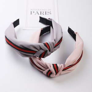 Fashion Women Knit Wool Hairband Hair Hoop Rabbit Ears Headband per Girl Hair Styling Pressure Head Buckle