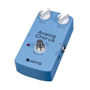 Chorus JOYO JF-37 Classic Analog guitarra pedal de efectos Stompbox grande ajustable Tone Embellish Pedal guitarra
